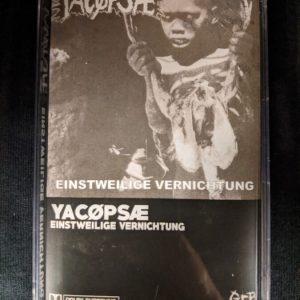 YACØPSÆ – Einstweilige Vernichtung MC Tapes