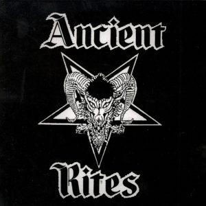 ANCIENT RITES / UNCANNY – Split LP (2nd hand) 2nd Hand Vinyl LP