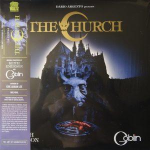 "GOBLIN and KEITH EMERSON – The Church Original Soundtrack LP 12"" Vinyl Records"