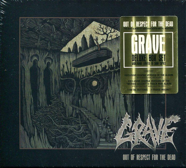 GRAVE – Out of Respect for the Dead CD