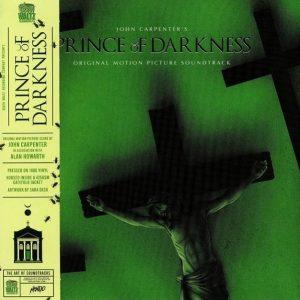 "JOHN CARPENTER and ALAN HOWARTH – Prince of Darkness Original Soundtrack LP 12"" Vinyl Records"