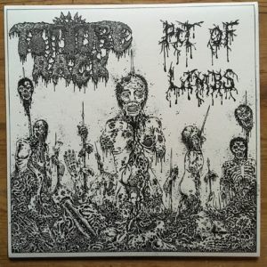 "TORTURE RACK – Pit of Limbs 7″ 7"" Vinyl Records"