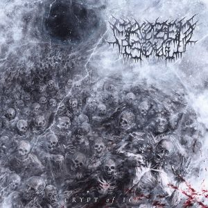 "FROZEN SOUL – Crypt of Ice LP (black) 12"" Vinyl Records"