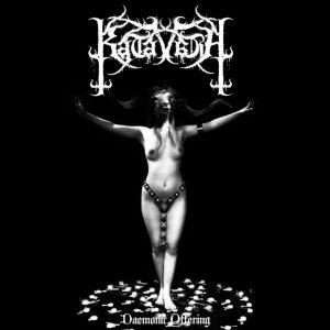 "KATAVASIA – Demonic Offerings  7″ 7"" Vinyl Records"