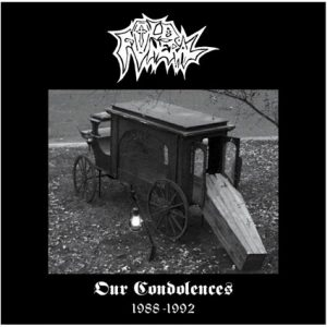 "OLD FUNERAL – Our Condolences 2LP (silver) 12"" Vinyl Records"