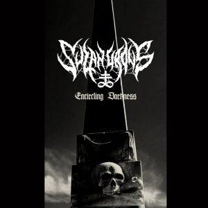 "SULPHUROUS – Encircling Darkness 7"" 7"" Vinyl Records"