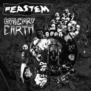 "FEASTEM – Graveyard Earth LP 12"" Vinyl Records"