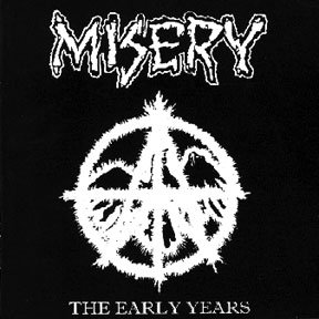MISERY – The Early Years CD (2nd Hand) 2nd Hand Cds
