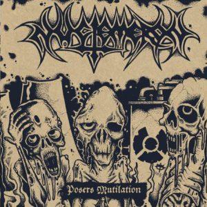 "NUCTEMERON – Posers Mutilation 1989-91 LP (ltd. color) 12"" Vinyl Records"
