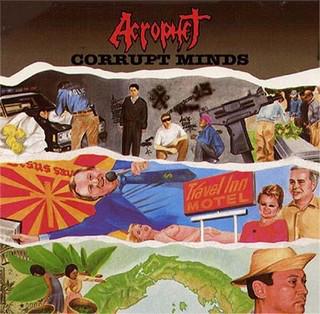 ACROPHET – Corrupt Minds LP (2nd Hand) 2nd Hand Vinyl LP