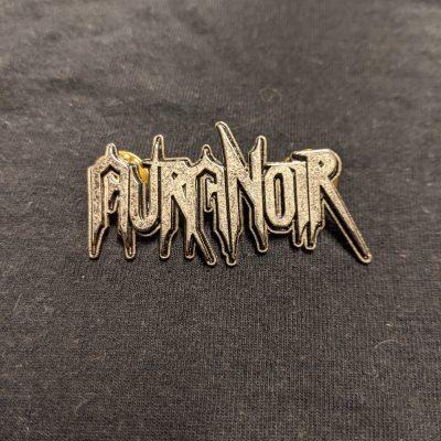 AURA NOIR – Logo Enamel Pin Pins & Enamel Pins