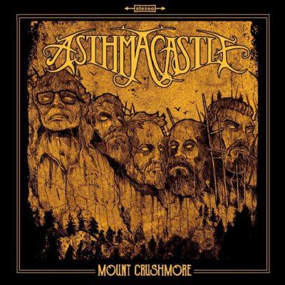 ASTHMA CASTLE –  Mount Crushmore LP (2nd hand) 2nd Hand Vinyl LP