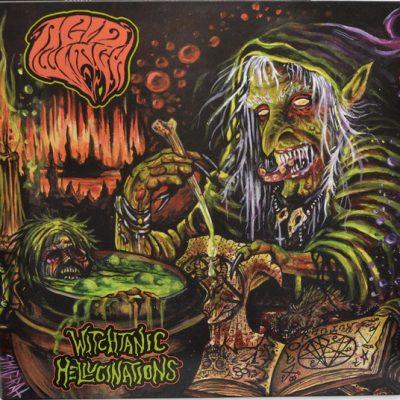 ACID WITCH – Witchtanic Hellucinations LP (2nd hand) 2nd Hand Vinyl LP