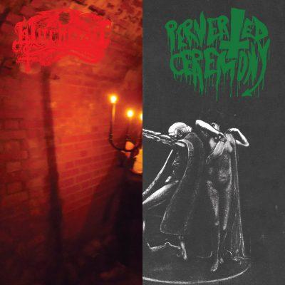 "PERVERTED CEREMONY / WITCHCRAFT – Nighermancie / Black Candle Invoker LP 12"" Vinyl Records"