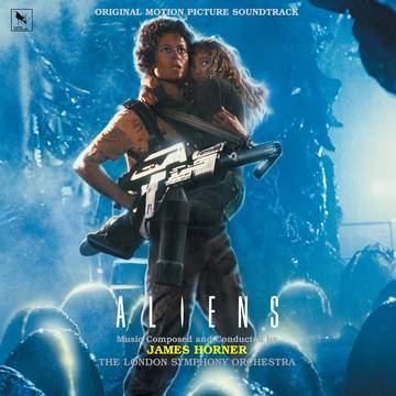 "JAMES HORNER-  Aliens LP 12"" Vinyl Records"
