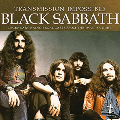 BLACK SABBATH – Transmission Impossible 3CD CDs