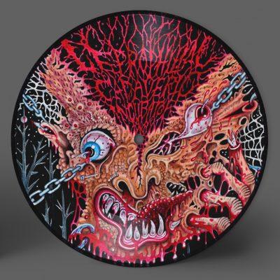 "CADAVERIC INCUBATOR / LEPROPHILIAC – SPLIT 7″ Picture Disc (preorder) 7"" Vinyl Records"