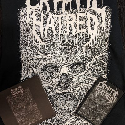 CRYPTIC HATRED – Free From The Grave CD+ T-shirt + Patch Bundle CDs