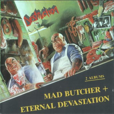 DESTRUCTION – Mad Butcher / Eternal Devastation CD (2nd Hand) 2nd Hand CDs