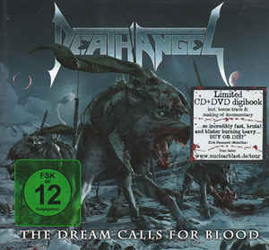 DEATH ANGEL – The Dream Calls for Blood CD/DVD Digibook (2nd Hand) 2nd Hand CDs
