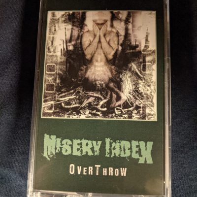 MISERY INDEX –  Overthrow MC Tapes