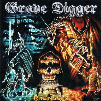 GRAVE DIGGER – Rheingold CD (2nd Hand) 2nd Hand CDs