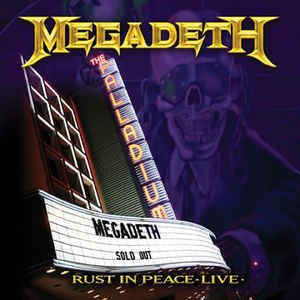 MEGADETH – Rust in Peace Live CD+ DVD  (2nd Hand) 2nd Hand CDs