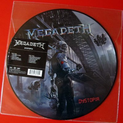 MEGADETH – Dystopia PIC LP (2nd hand) 2nd Hand Vinyl LP