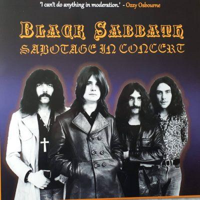 "BLACK SABBATH – Sabotage in Concert 2 x 10"" LP 12"" Vinyl Records"