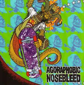 AGORAPHOBIC NOSEBLEED / TOTAL FUCKING DESTRUCTION – Frontside Nosegrind split 7″ (2nd Hand) 2nd Hand Vinyl EP