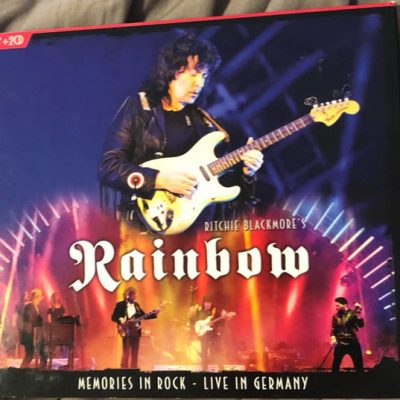 RAINBOW – Memories in Rock Live In Germany 2CD + DVD (2nd Hand) 2nd Hand CDs
