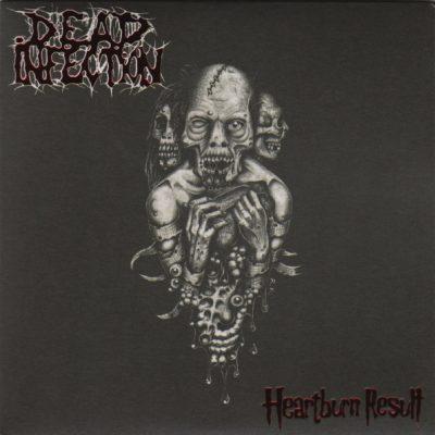 DEAD INFECTION / REGURGITATE – split 7″ (2nd Hand) 2nd Hand Vinyl EP