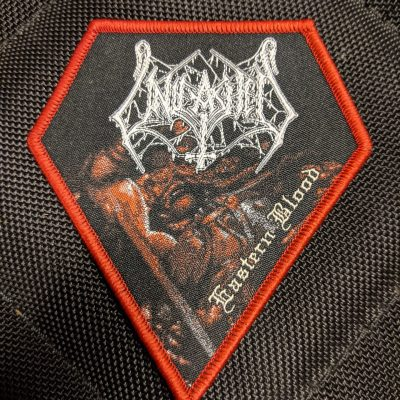UNLEASHED – Eastern Blood patch (red border) Patches