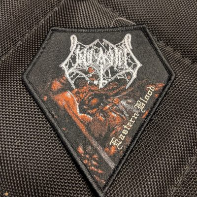UNLEASHED – Eastern Blood patch (black border) Patches