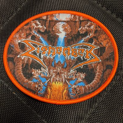 DISMEMBER – Like An Everflowing Stream patch (orange border) Patches