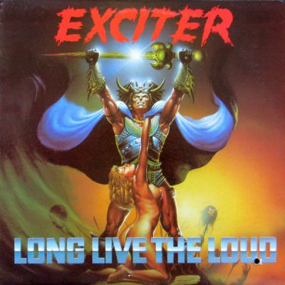 EXCITER – Long Live the Loud LP (2nd hand) 2nd Hand Vinyl LP