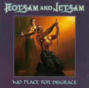 FLOTSAM AND JETSAM – No Place for Disgrace LP (2nd hand) 2nd Hand Vinyl LP