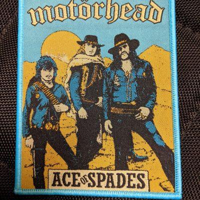 MOTÖRHEAD – Ace of Spades patch (blue border) Patches