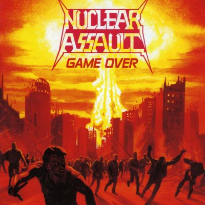 NUCLEAR ASSAULT – Game Over + The Plague CD (2nd Hand) 2nd Hand CDs