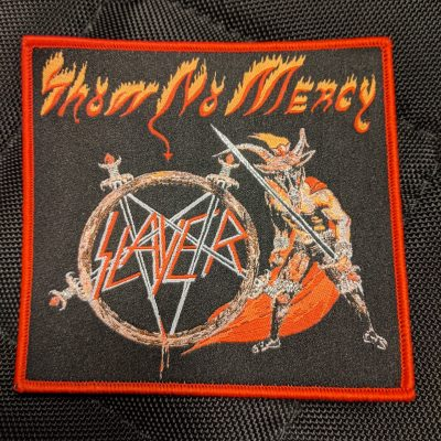 SLAYER – Show No Mercy patch (red border) Patches