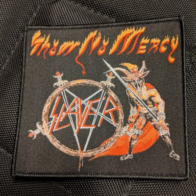 SLAYER – Show No Mercy patch (black border) Patches