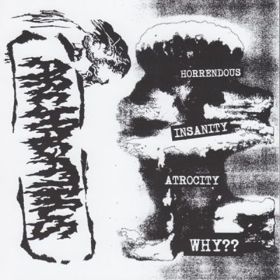 """NO THOUGHT / ARCHAGATHUS 7"""" (2nd Hand) 2nd Hand Vinyl EP"""