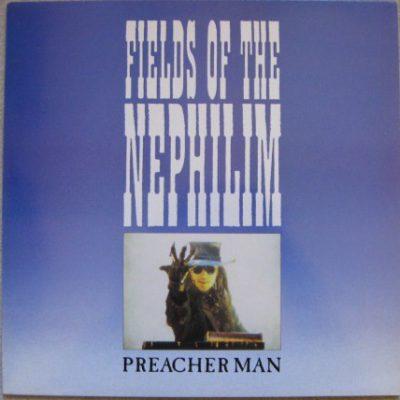 "FIELDS OF THE NEPHILIM –  Preacher Man 12"" (2nd hand) 2nd Hand Vinyl LP"