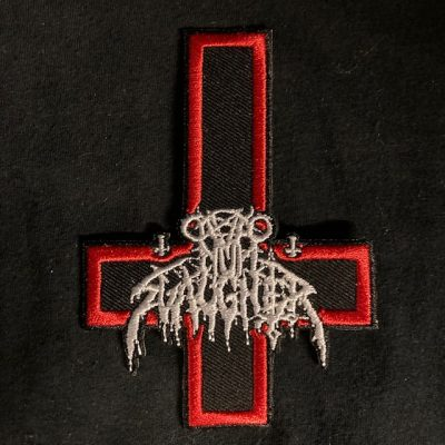 NUNSLAUGHTER – Inverted Cross Patch Patches
