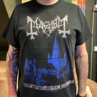 MAYHEM – De Mysteriis Dom Sathanas T-Shirt T-shirts