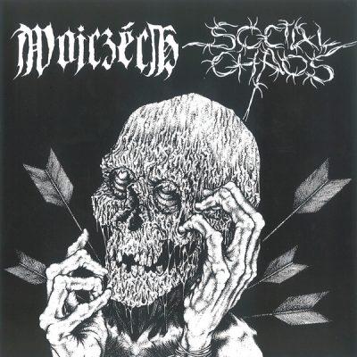 """WOJCZECH / SOCIAL CHAOS  7"""" (2nd Hand) 2nd Hand Vinyl EP"""