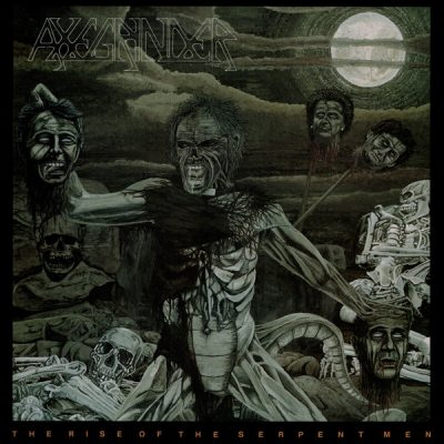 """AXEGRINDER – The Rise of The Serpent Men LP 12"""" Vinyl Records"""