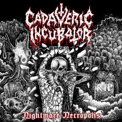 "CADAVERIC INCUBATOR – Nightmare Necropolis LP (splatter) 12"" Vinyl Records"