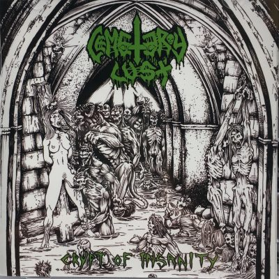 CEMETERY LUST – Crypt of Insanity / Unholy Grave Bangers CD CDs
