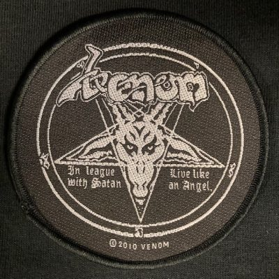 VENOM – In League With Satan Patch Patches